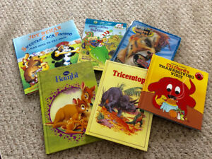Hardcover children's books
