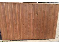 heavy duty verti lap timber fence panels kiln dried timber treated