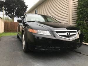 2006 Acura TL cuire - automatique - Seulement 187000KM