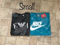 Brand new adult t shirts. Small, medium, large and XL