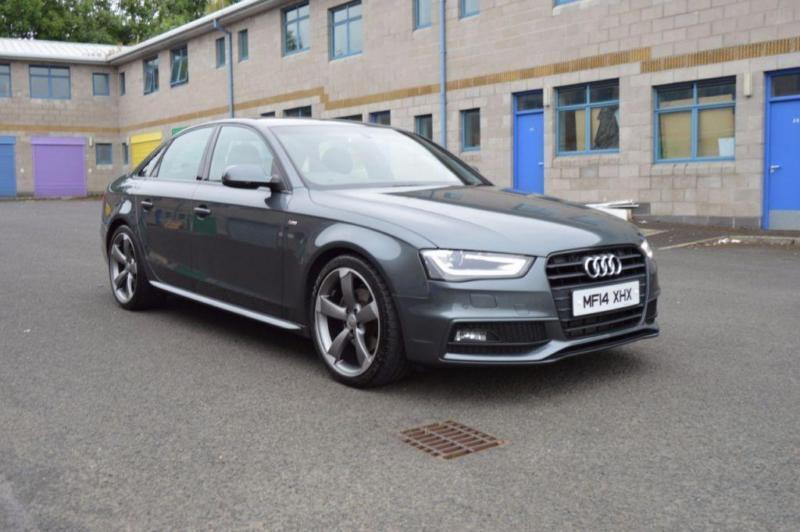 2014 14 audi a4 2 0 tdi s line black edition 4d 148 bhp diesel in dungiven county londonderry. Black Bedroom Furniture Sets. Home Design Ideas