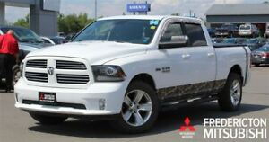 2014 Ram 1500 SPORT! 4X4! HEATED/COOLED LEATHER! NAV!