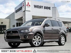 2013 Mitsubishi Outlander XLS SuperAWC–Accident Free–Satellite R