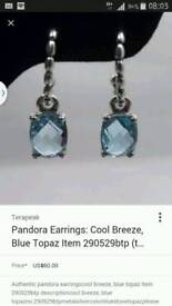 GENUINE Pandora earrings