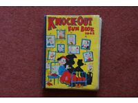 KNOCK-OUT FUN BOOK 1943. £5.00