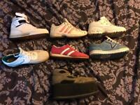 Selection of trainers size 5-7