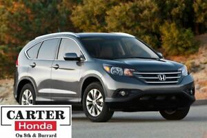 2013 Honda CR-V EX-L + LOW KMS + ACCIDENT FREE + CERTIFIED!