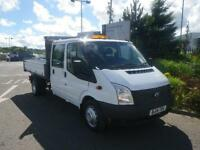 Ford Transit 2.2TDCi DOUBLE CAB TIPPER ( 125PS ) ( EU5 ) ( RWD ) 350 LWB DRW