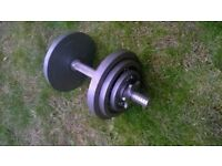 Marcy 20kg Cast Iron Dumbell Set