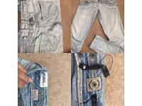 Jeans size 10 river Island Zara