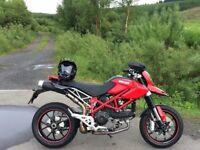 Ducati Hypermotard 1100 Evo, Swap px Car Motorbike