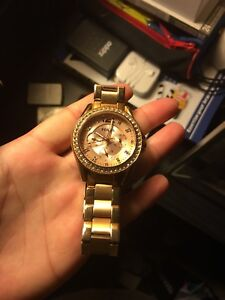 Gorgeous Rose Gold Fossil Watch
