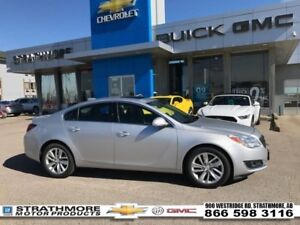 2016 Buick Regal AWD-Turbo-Leather-Sunroof-Nav-WiFi  - Certified