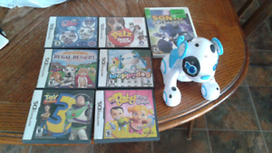 DS Games and a wii game
