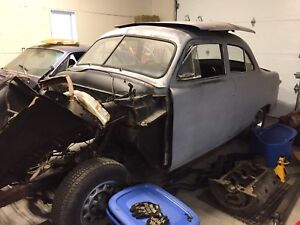 1951 Ford 2 door Sedan - major project or part out