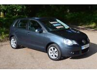 2008 VOLKSWAGEN POLO 1.4 Match 80 5dr Auto ONE OWNER 18,000 MILES
