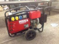 mosa ts 200 des/cf yanmar diesel welder generator genset