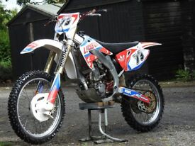 2004 crf450 , starts & rides great and in good condition
