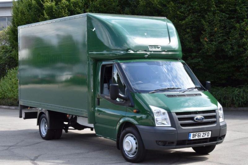 2.4 350 E/F DRW 2D 100 BHP LWB RWD WITH TAIL LIFT DIESEL LUTON VAN 2011