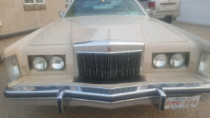 Original 79 lincoln continental