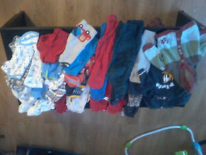 REDUCED, BOYS 6-9MTH CLOTHING, LIKE NEW
