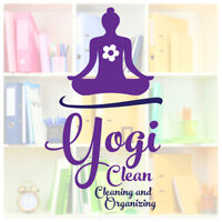 YogiClean also helps organize things!
