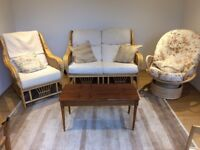 Cane Furniture in good condition.