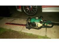 Petrol hedge trimmer garden bush cutter