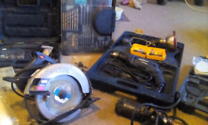 Power and hand tool lot for sale