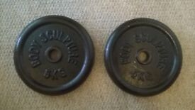 5kg cast iron weight plates