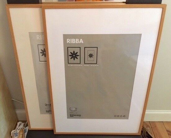 ikea ribba large picture frame 100cm x 70cm in leith. Black Bedroom Furniture Sets. Home Design Ideas