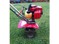 MANTIS TILLER / CULTIVATOR 2-STROKE ( vgc & good working order ) - good little unit