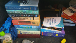 Nursing books for sale...