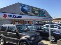Romford Suzuki require a full time, permanent Vehicle Technician / Mechanic