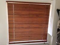 Three Venetian blinds