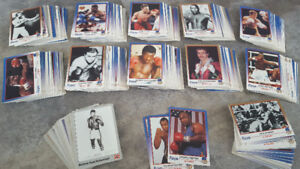 Approx 400+ Boxing Trading Cards