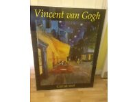 Free to collect framed print - van gogh