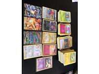 300+ pokemon cards 9 x Holos promos charizard