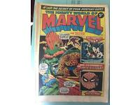 Marvel comics. Hulk Spider-Man original 1973