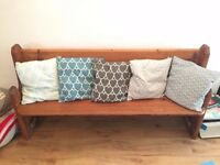 5x Nearly New High Quality Swedish Nina Kullberg Stylish Cushions
