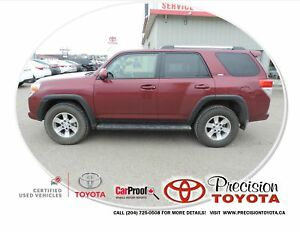 2013 Toyota 4Runner SR5 V6 Local One Owner, Leather, Heated S...