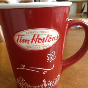Tim Hortons mug, limited edition , excellent condition