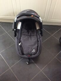 Jane Pro travel system pushchair and car seat