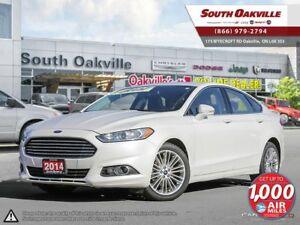 2014 Ford Fusion SE | AWD | HEATED LEATHER | NAV | SUNROOF