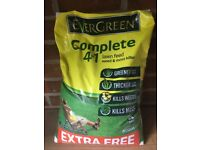 Evergreen Complete 4 in 1 Lawn Feed 400sq mtr Bag