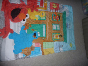 Sesame street bedding crib or toddler bed