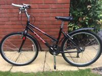 TREK Sports 800 ladies bike good condition black and red small frame