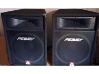 Pair of Peavey EuroSys 500 RX