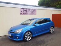2006 VAUXHALL ASTRA VXR 74K ARDEN BLUE NATIONWIDE DELIVERY CARD FACILITY WARRANTY PART EX AVAILABLE