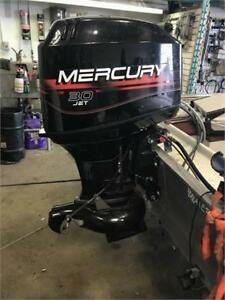 USED 1999 MERCURY 30HP JET TWO STROKE OUTBOARD -- ONLY $3999!